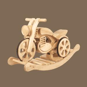drewniany motorek classic