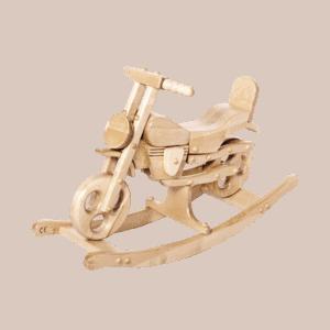 Motorek Drewniany Super