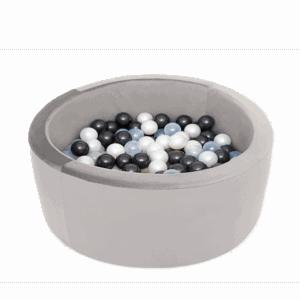 Suchy basen - szary - okrągły