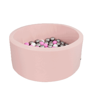 Suchy basen - okrągły - jasnoróżowy - 5
