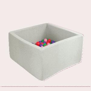 Suchy basen - kwadratowy - marmurkowy - 2