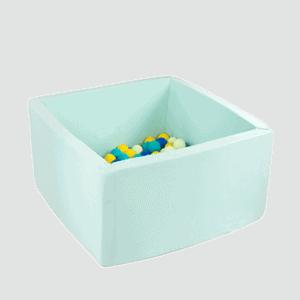 Suchy basen - kwadratowy - miętowy - 3