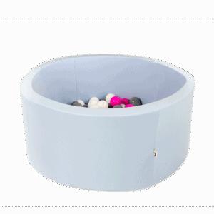 Suchy basen - okrągły - liliowy