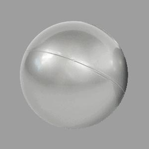 Piłeczka do basenu - metaliczna