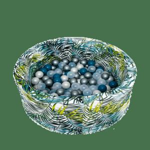 Suchy basen - okrągły - liście palmy