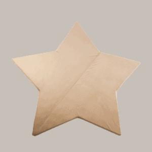 mata gwiazdka dla dzieci - złota