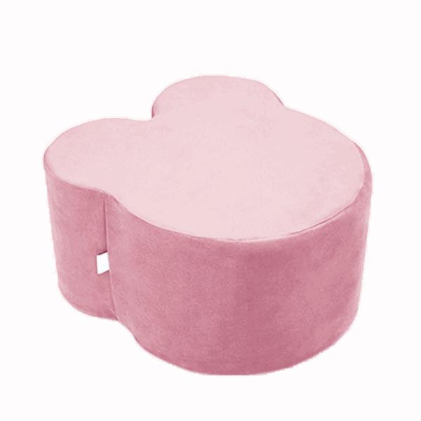 pufa różowa - miś