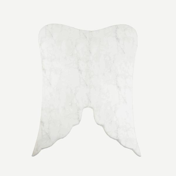 Mata podłogowa - skrzydła anioła - marmurek