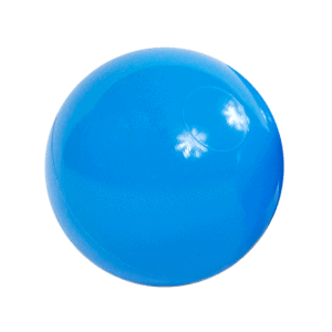 Piłeczka do basenu - błękitna