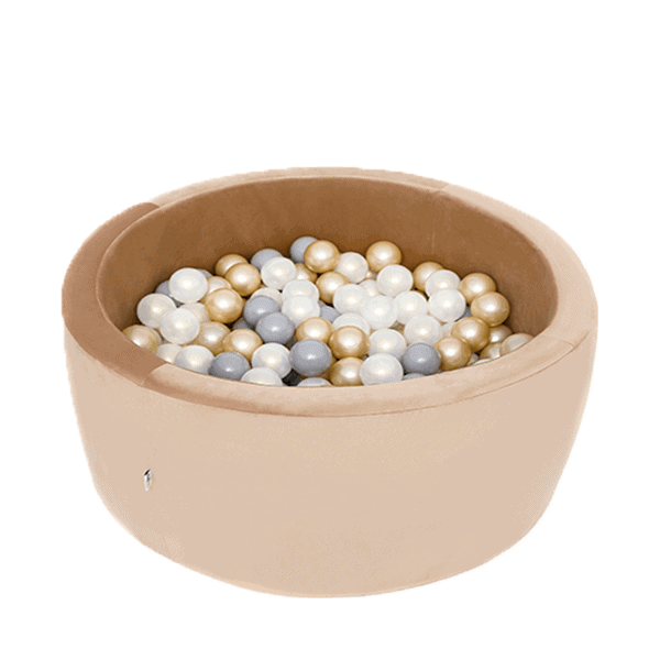 Basenik Velvet Złoty