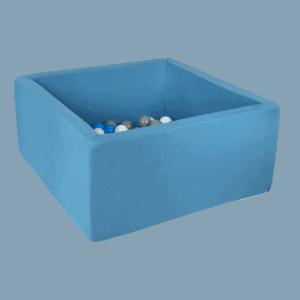 Suchy basen - kwadratowy - błękitny
