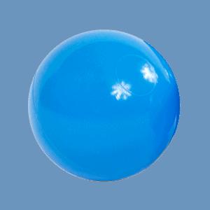 Piłeczka do basenu - niebieska - 7