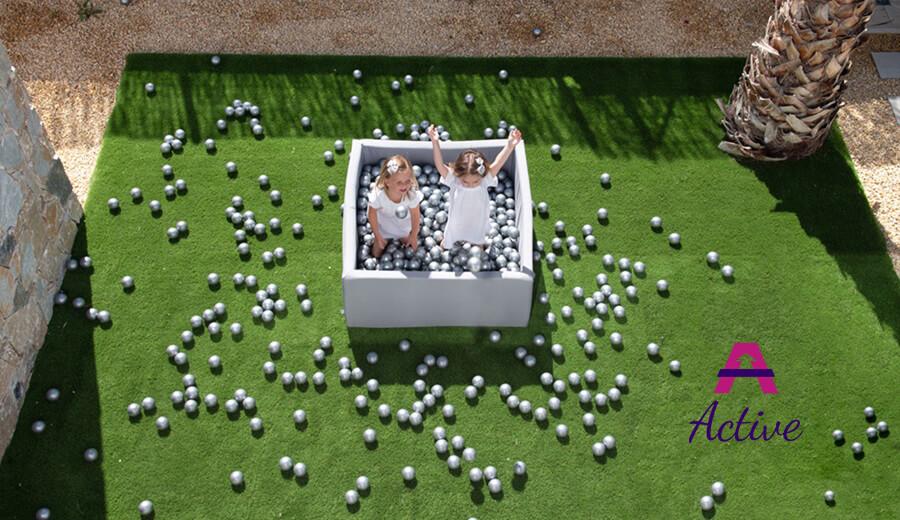 Basenik Active – Biały, 115×50