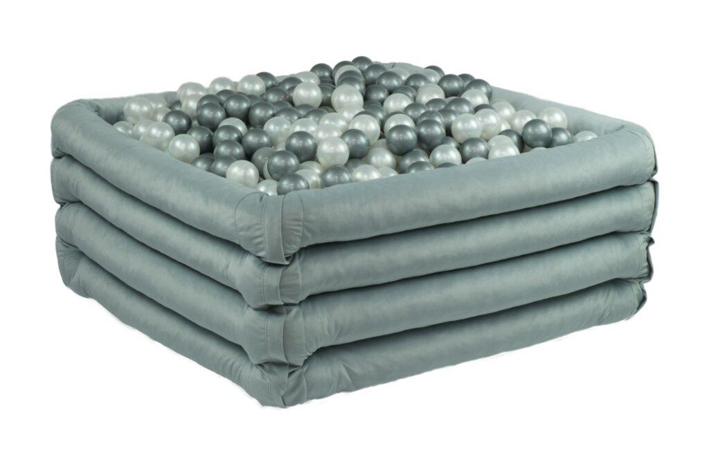 Suchy basen - wypełniony - kwadratowy szary - 2