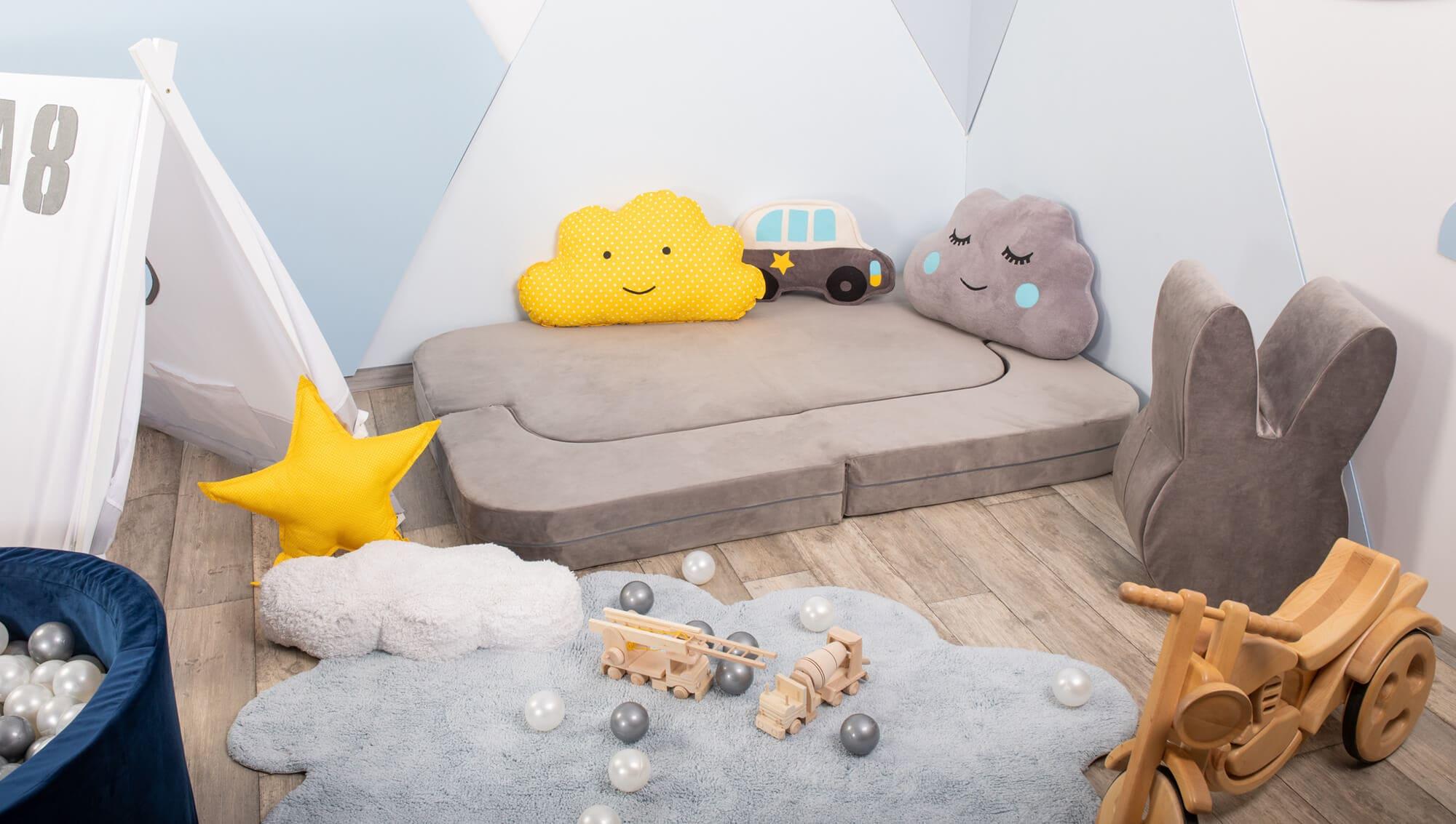 Sofa – Łóżko – Szary