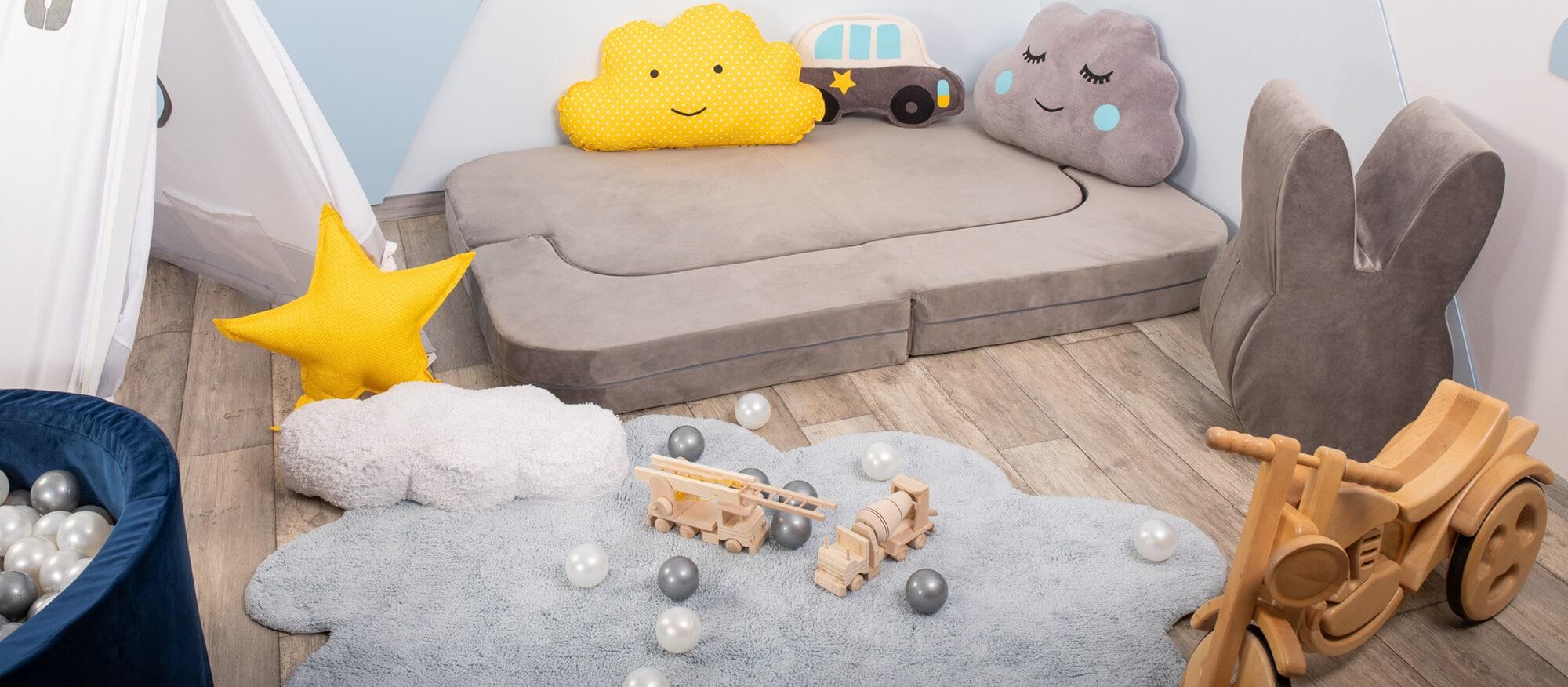 Mata do pokoju dziecka – jaki kolor i kształt wybrać?