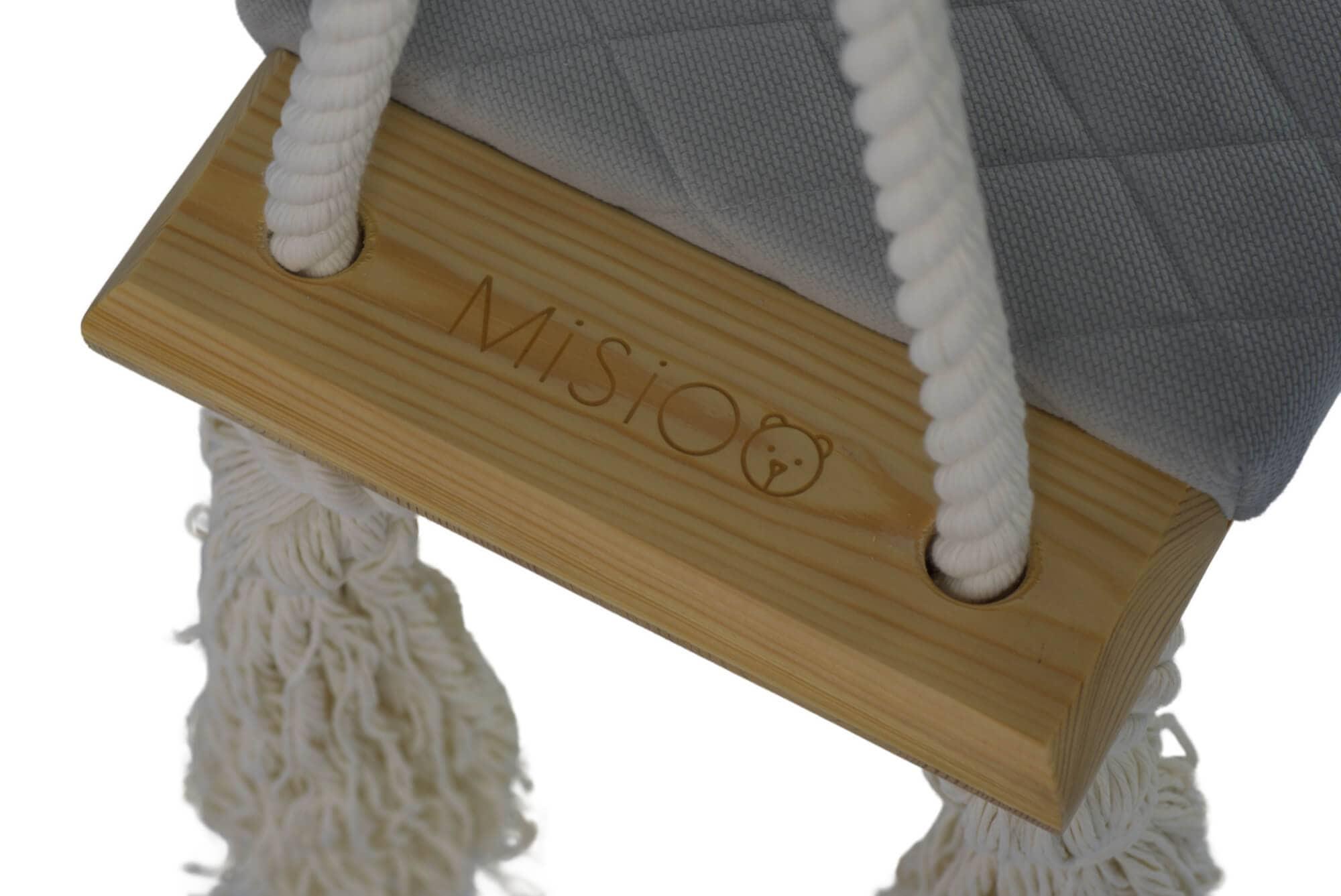 drewniane huśtawki