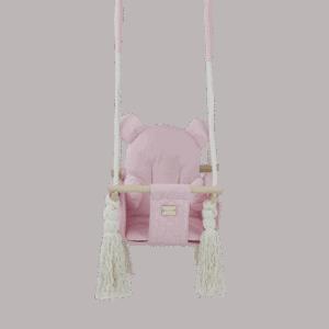 Huśtawka - mała różowa - zbliżenie