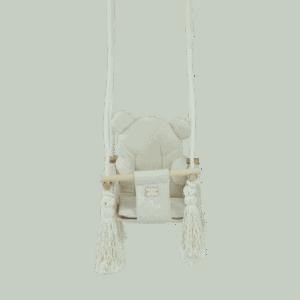 Huśtawka prosta - biała